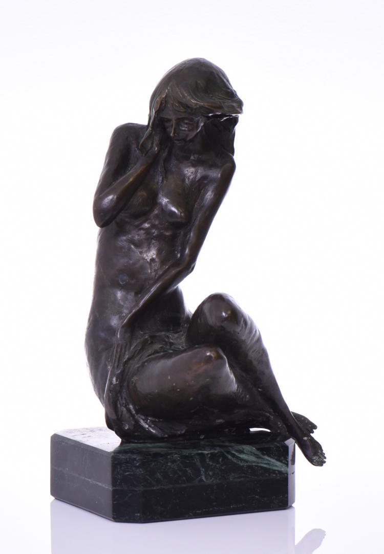Nico Venzo, 1938, Italian Bronze Sculpture Of
