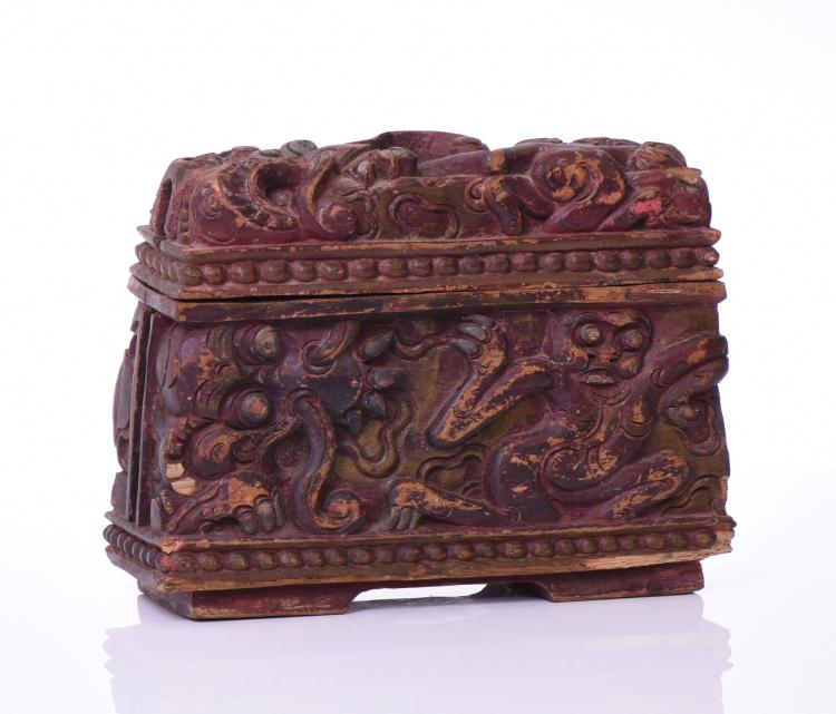 A Rare And Unique Indonesian Hand Carved Wood
