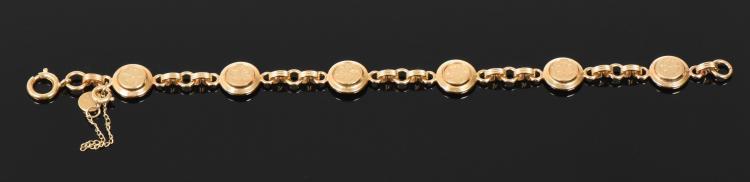 Vintage Catamore 12k Gold Fill Bracelet. Esti