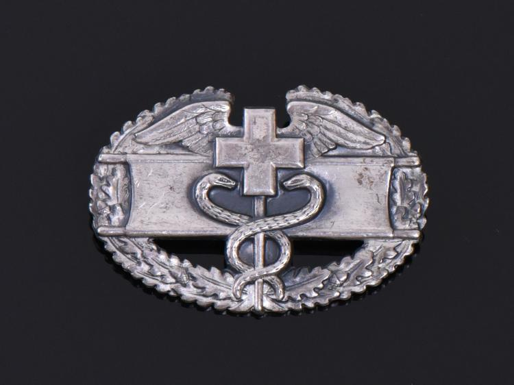 World War II Sterling Silver Medical Corpsman