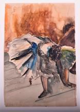 Attributed to Edgar Degas ( 1834- 1917)