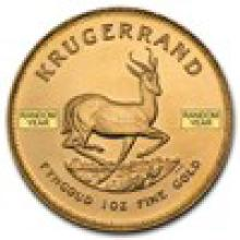 South Africa 1 oz Gold Krugerrand (Random Year) #PAPPS93110