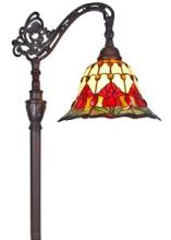 TIFFANY STYLE TULIPS READING FLOOR LAMP 62 IN #99569v2