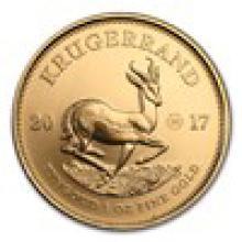 2017 South Africa 1 oz Gold Krugerrand 50th Anniv BU (Privy) #PAPPS93139