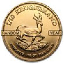 South Africa 1/10 oz Gold Krugerrand (Random Year) #PAPPS93142