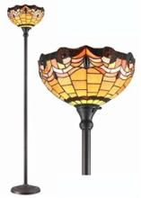 TIFFANY STYLE TORCHIERE LAMP 71 INCHES TALL #99575v2