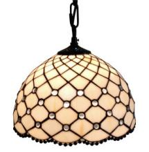 JEWEL TIFFANY STYLE HANGING LAMP 12 IN #10169v3