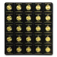 2016 25x 1 gram Gold Maple Leafs - Maplegram25 #75421v3