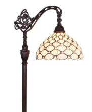 TIFFANY STYLE 62-INCH JEWELED READING FLOOR LAMP #99581v2