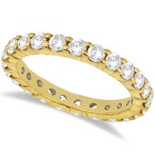 Diamond Eternity Ring Wedding Band in 14k Yellow Gold (2.00ct) #20835v3