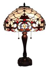 TIFFANY STYLE FLORAL TABLE LAMP 24 INCH, MULTI #99506v2