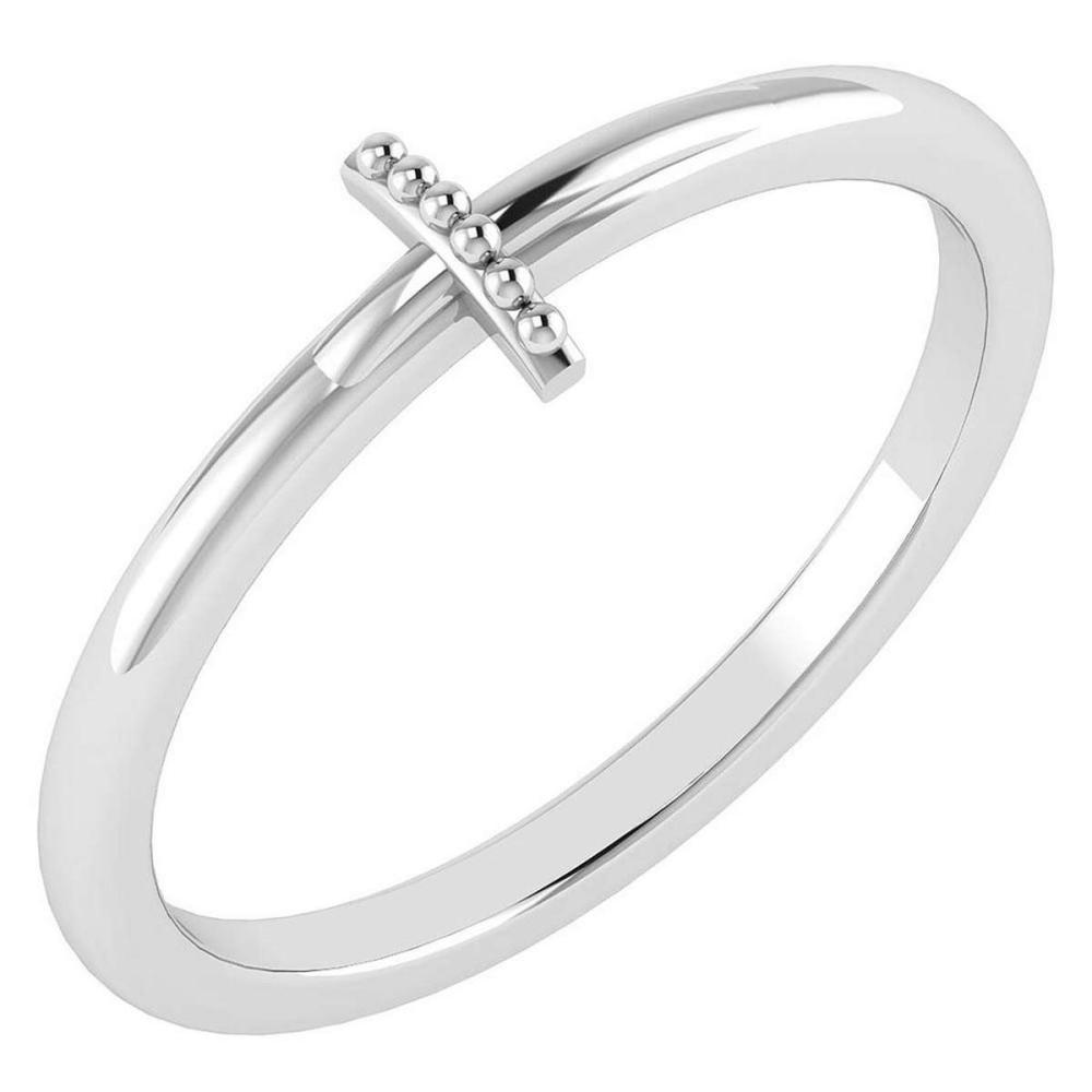 Lot 20161008: Gold MADE IN ITALY Styles Ring For beautiful ladies 14k White Gold MADE IN ITALY #PAPPS20301