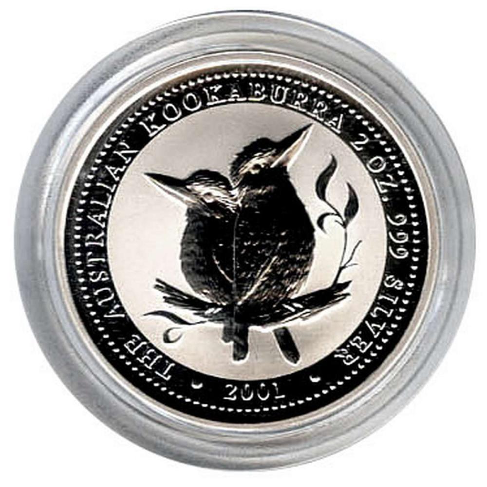 Australian Kookaburra 2 oz. Silver 2001 #PAPPS81317