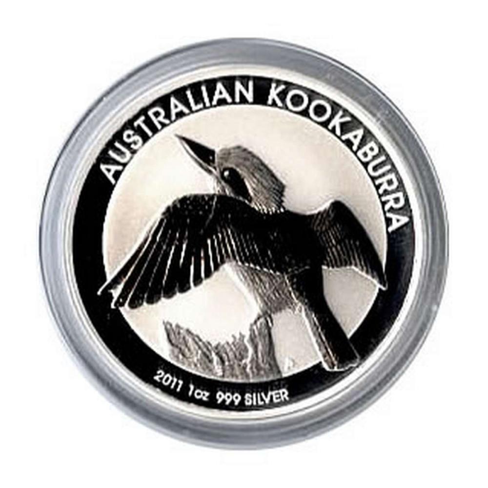 Australian Kookaburra 1 oz. Silver 2011 #PAPPS81313