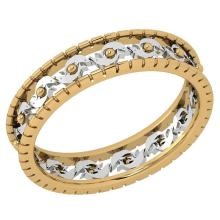 Lot 20161121: Stunning Filigree Engagement Band 18K Yellow And White Gold MADE IN ITALY #PAPPS21270