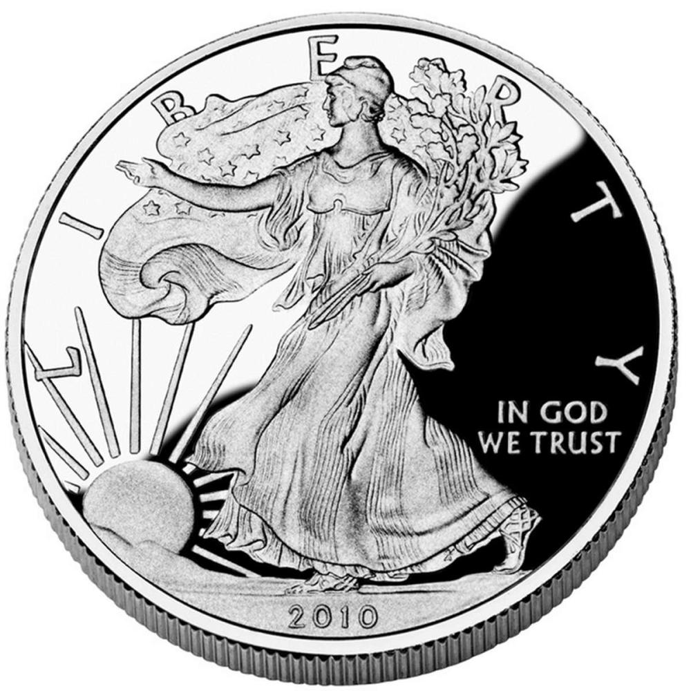 Lot 20161166: Proof Silver Eagle 2010-W #PAPPS81303