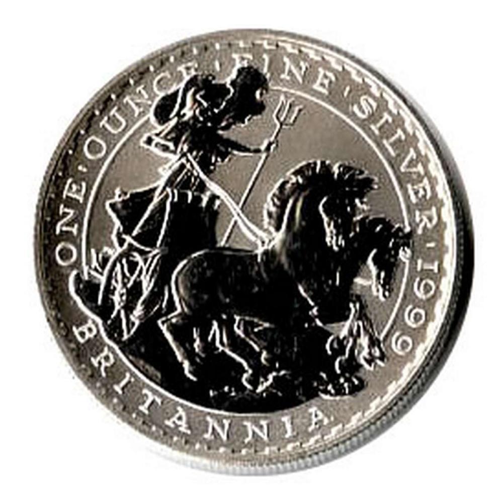 Uncirculated Silver Britannia 1 oz 1999 #PAPPS81360