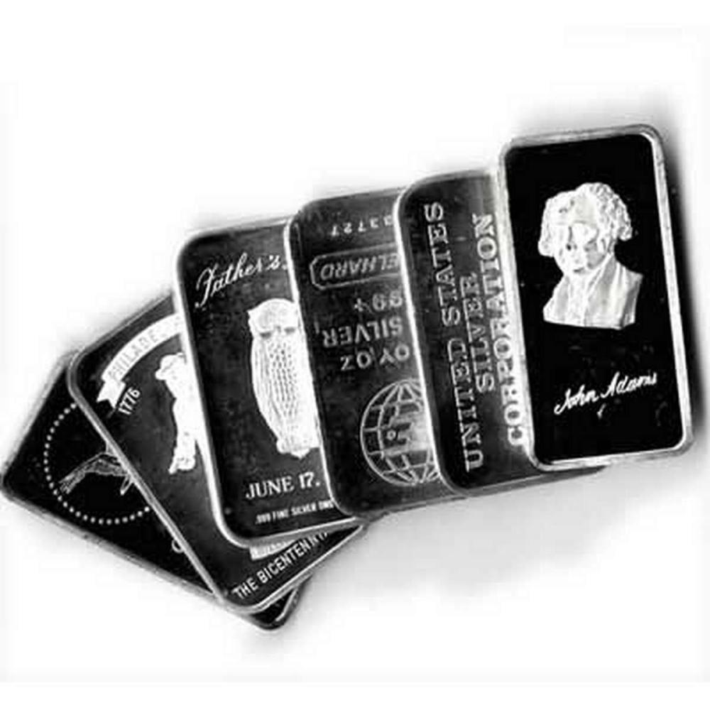 Random Manufacturer Silver Bar 1 oz #PAPPS78879