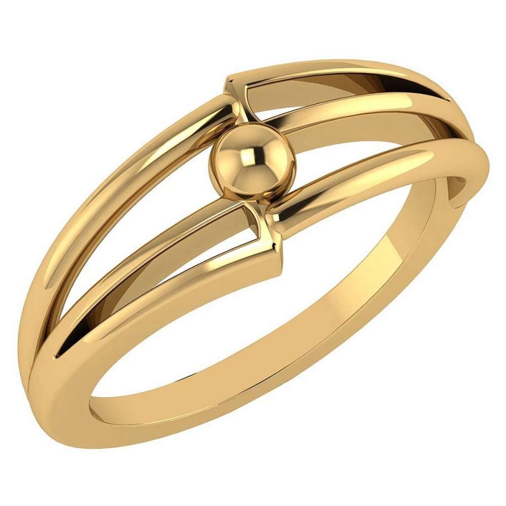 Gold MADE IN ITALY Styles Ring For beautiful ladies 14k Yellow Gold MADE IN ITALY #PAPPS20275