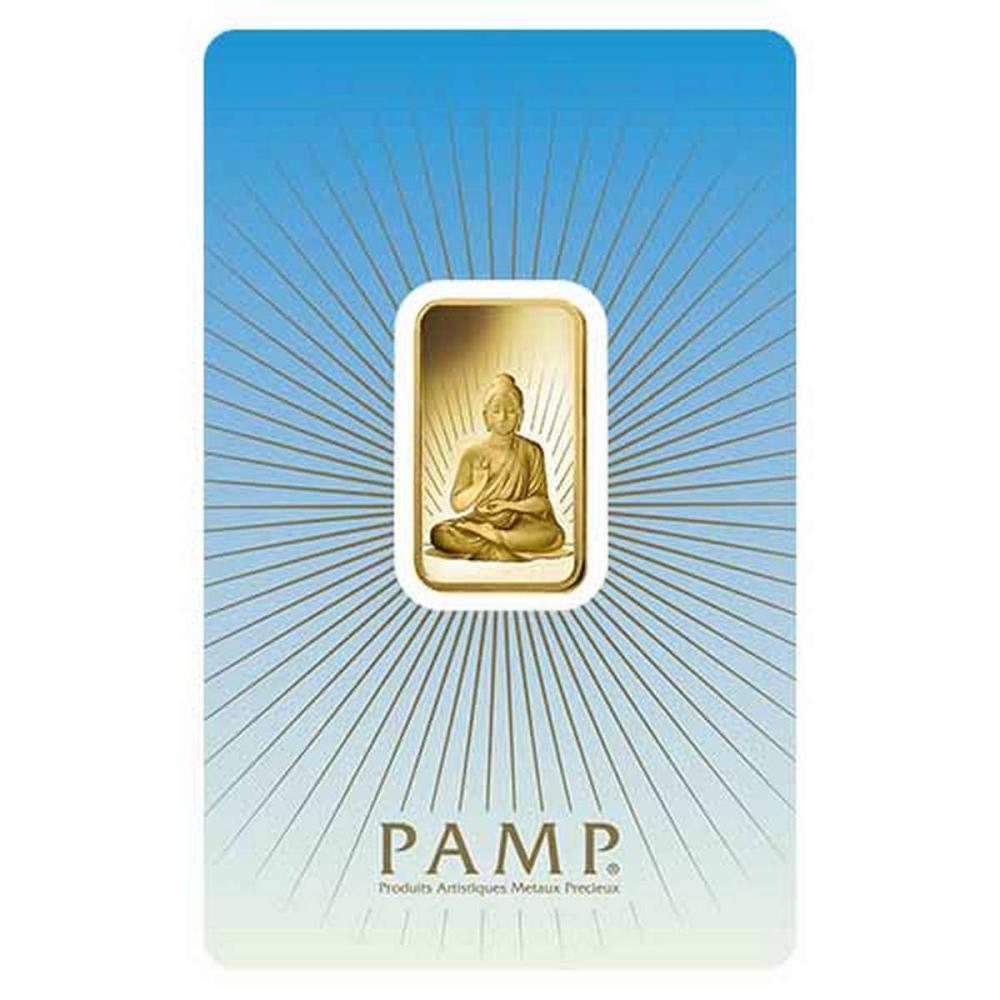 PAMP Suisse 10 Gram Gold Bar - Buddha #PAPPS77856