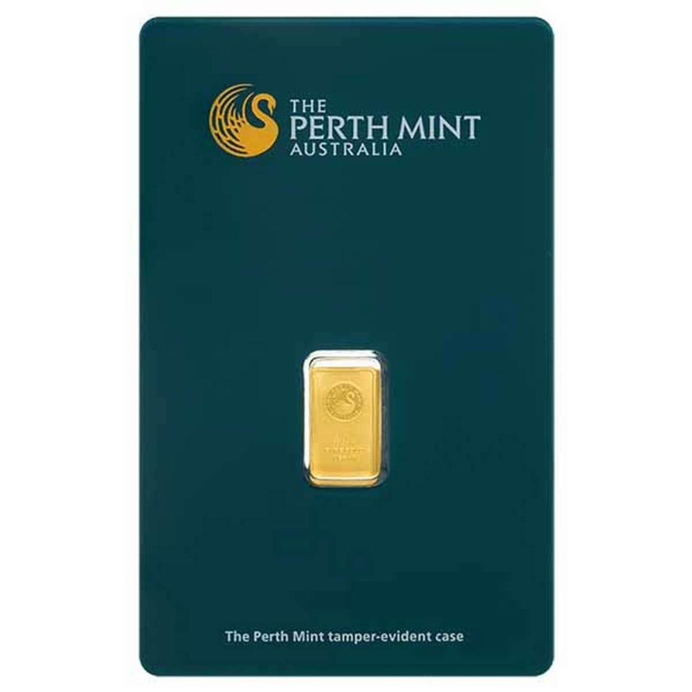 Perth Mint 1 Gram Gold Bar #PAPPS77869