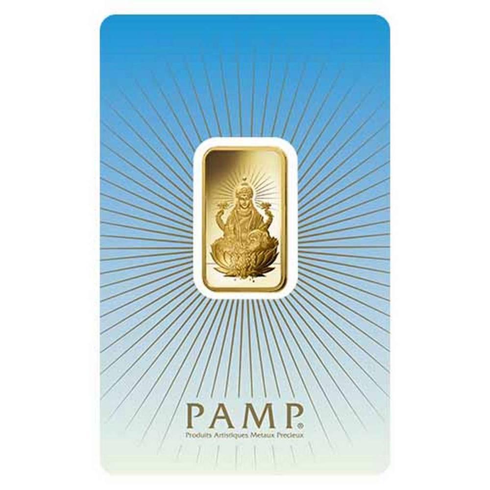 PAMP Suisse 10 Gram Gold Bar - Lakshmi #PAPPS77898