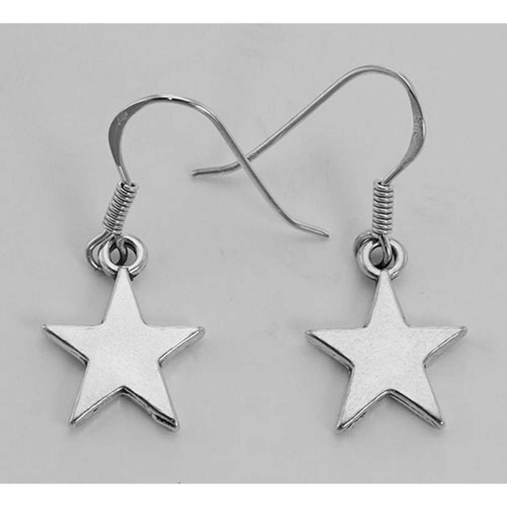 Cute Star Earrings - Sterling Silver #PAPPS98352