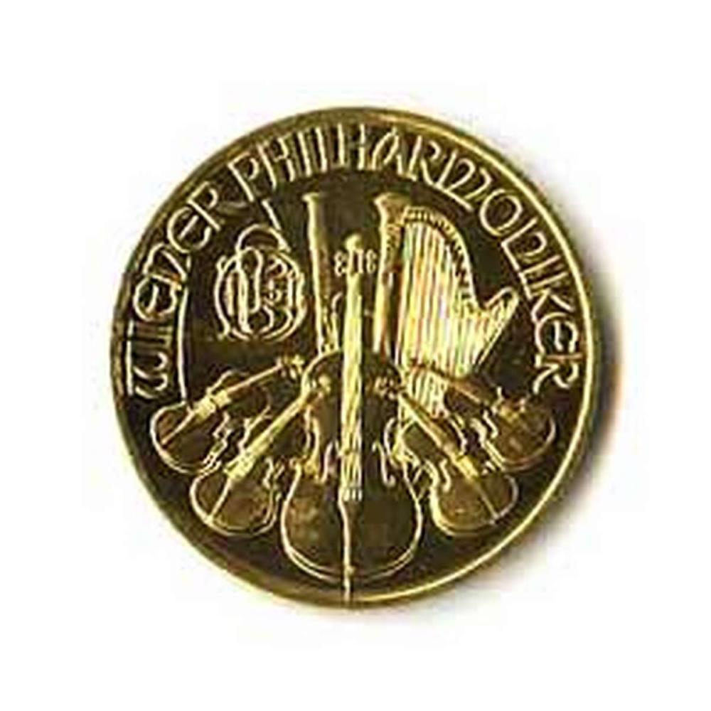 Austrian Gold Philharmonic 1/4 Ounce - Random Year #PAPPS78283