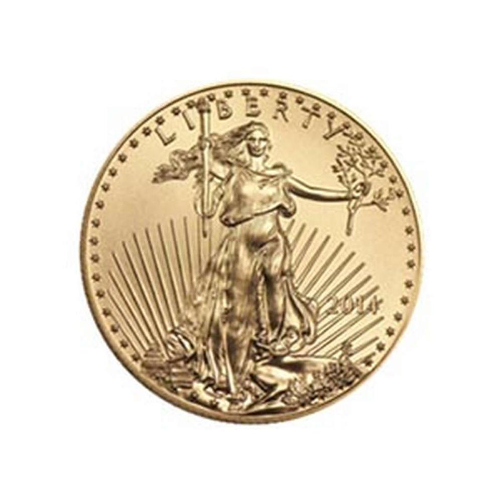 2014 American Gold Eagle 1/2 oz Uncirculated #PAPPS58325