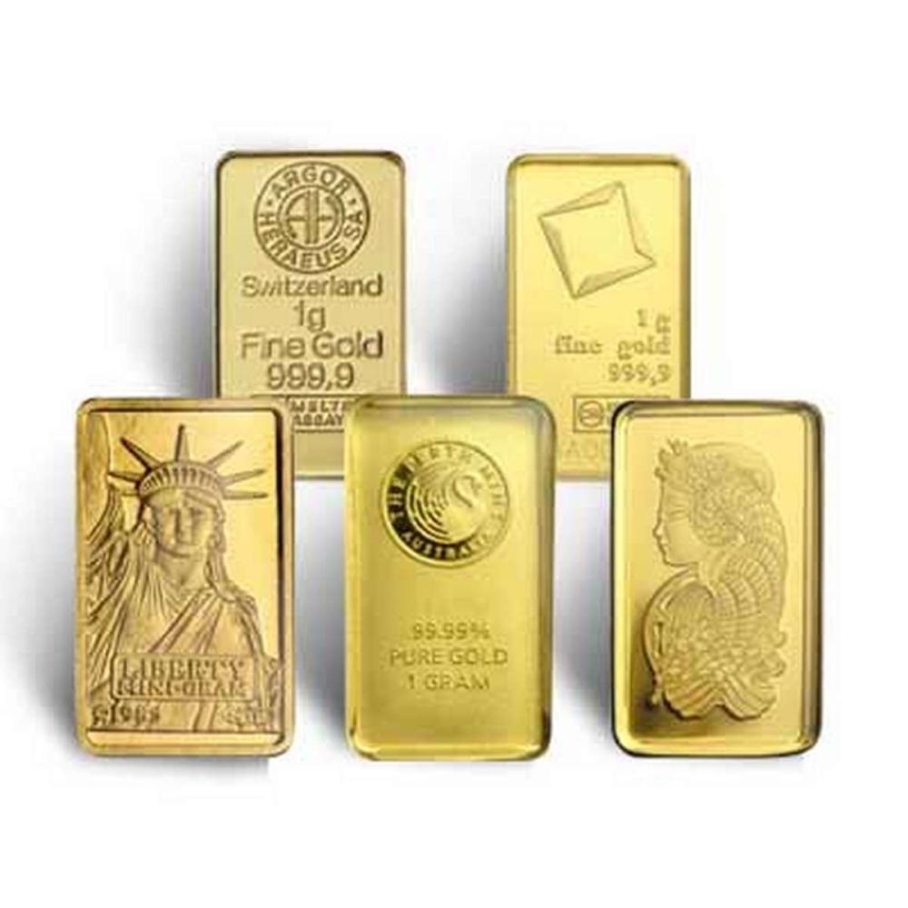 1 Gram Gold Bar - Random Manufacturer #PAPPS77914