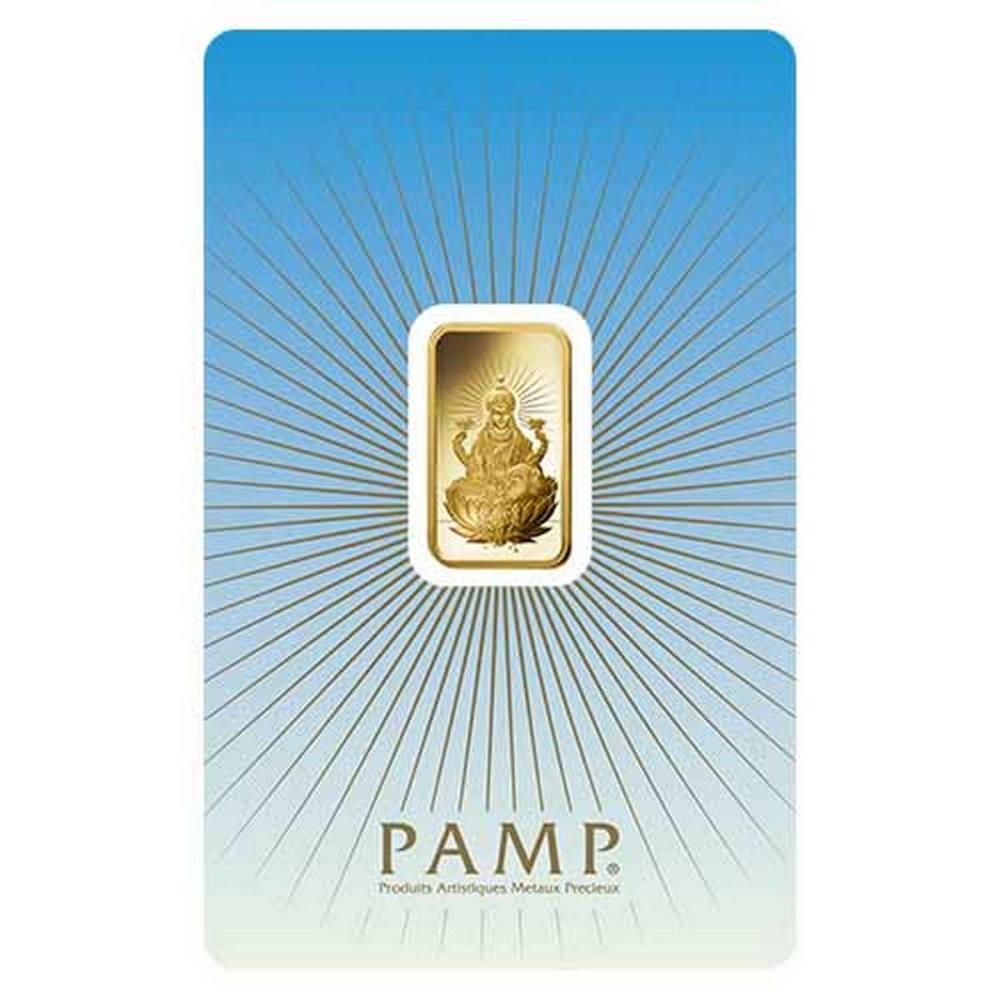 PAMP Suisse 5 Gram Gold Bar - Lakshmi #PAPPS77893