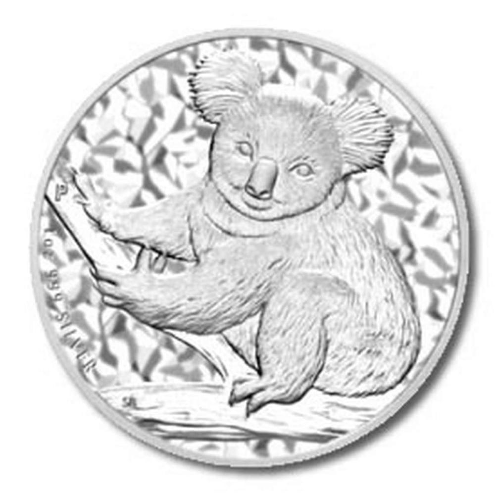 Australian Koala 1 Ounce Silver 2009 #PAPPS58064