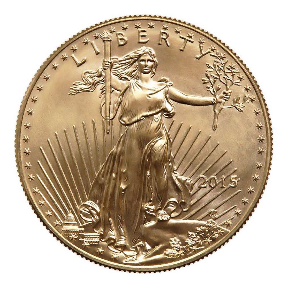 2015 American Gold Eagle 1 oz Uncirculated #PAPPS58323