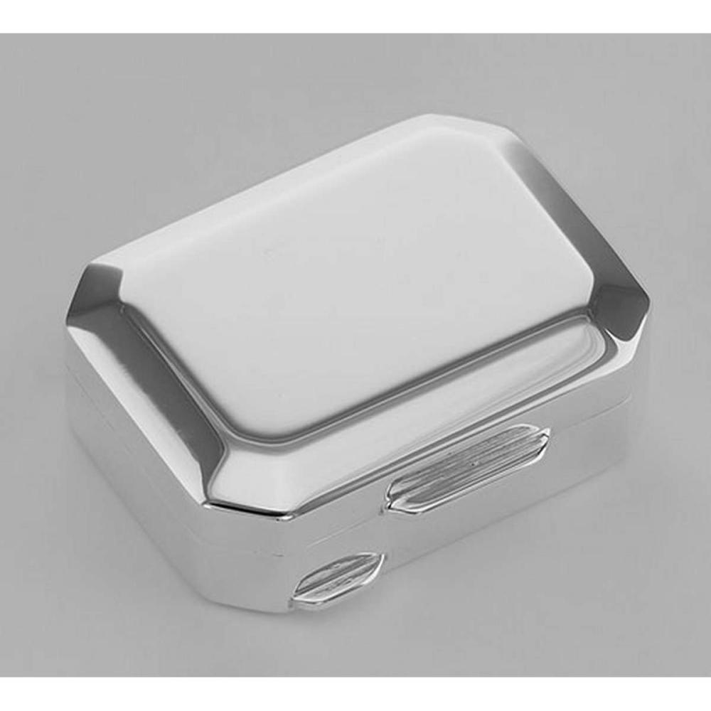 Italian Handmade Octagon Shaped Sterling Silver Pillbox #PAPPS98411