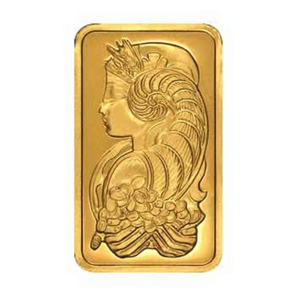 PAMP Suisse 100 Gram Gold Bar - Fortuna Design #PAPPS77922