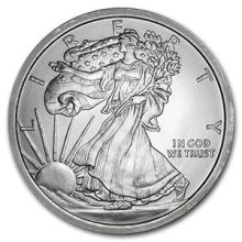 5 oz Silver Round - Walking Liberty #PAPPS74497