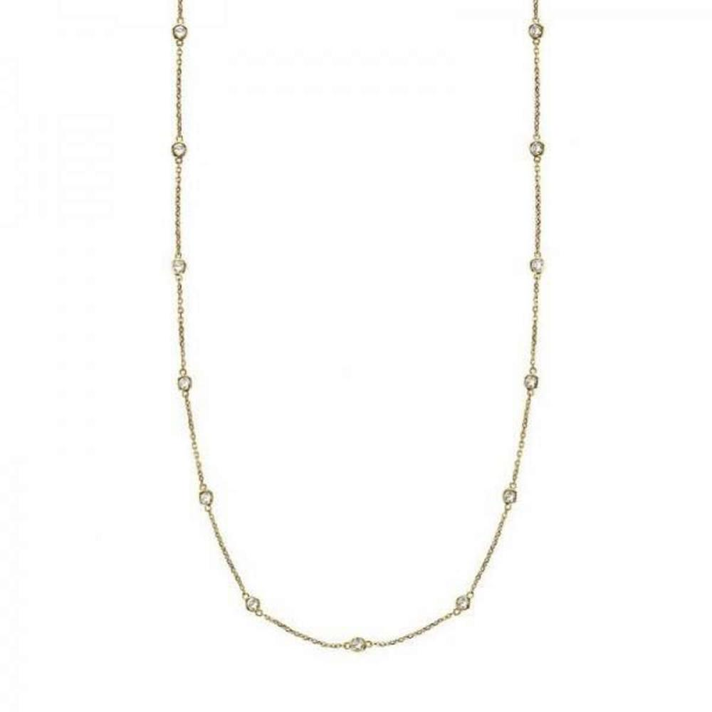 36 inch Diamonds by The Yard Station Necklace 14k Yellow Gold (1.50ct) #PAPPS20833