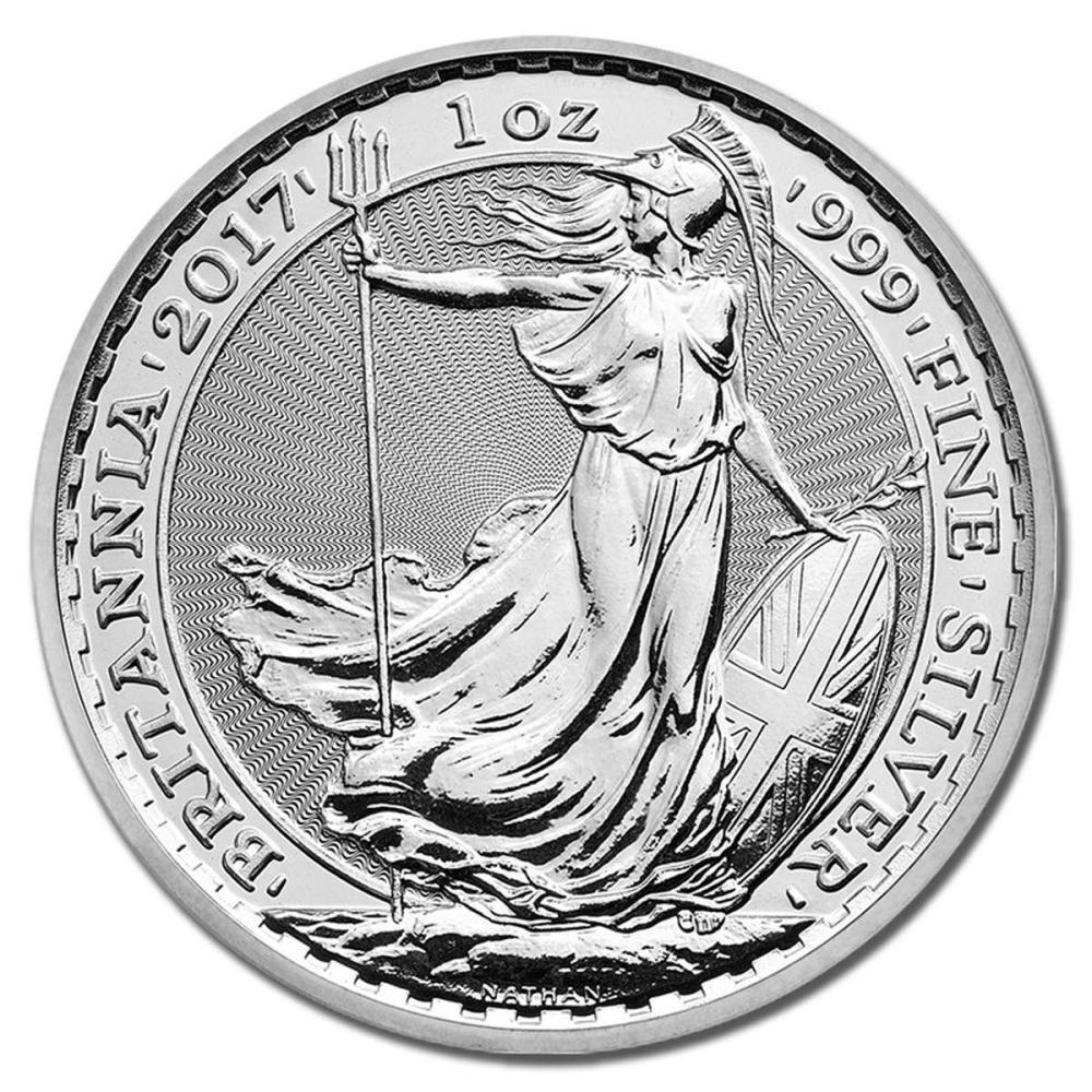 Uncirculated Silver Britannia 1 oz 2017 #PAPPS81496