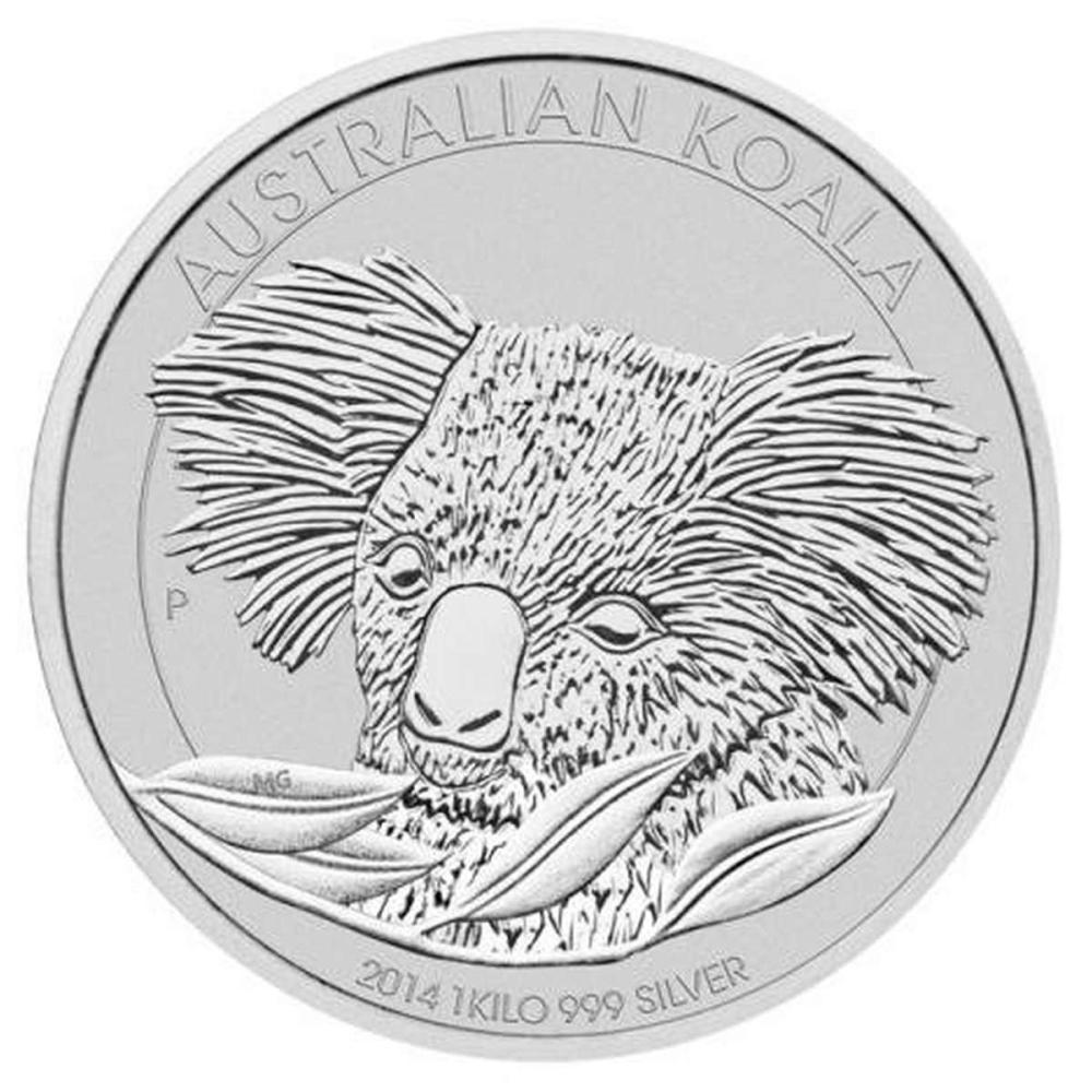 Australian Koala Kilo Silver 2014 #PAPPS81489