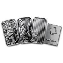 1 gram Silver Bar - Secondary Market (one piece per lot) #74612v3
