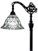 TIFFANY STYLE FLOOR LAMP 62 IN ADJUSTABLE SHADE #99564v2