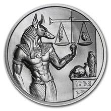2 oz Silver Round - Anubis #74491v3