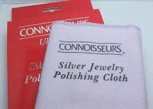 Connoisseurs UltraSoft Silver Jewelry Polishing Cloth 11 in. x 14 in. #97881v2