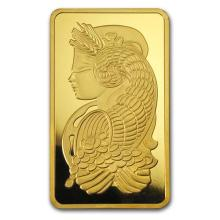 10 oz Gold Bar - PAMP Suisse Lady Fortuna (w/Assay) #75196v3