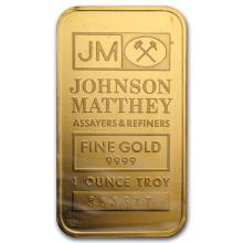1 oz Gold Bar - Johnson Matthey #75193v3