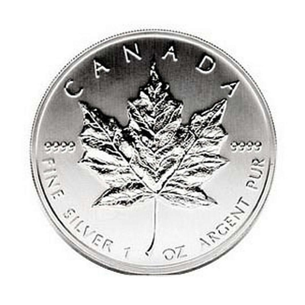 2005 Silver Maple Leaf 1 oz Uncirculated #PAPPS58012