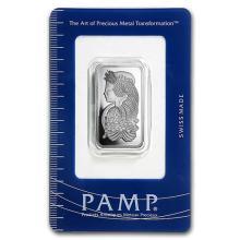 1/2 oz Platinum Bar - PAMP Suisse (In Assay) #75645v3