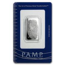 20 gram Platinum Bar - PAMP Suisse (In Assay) #75649v3