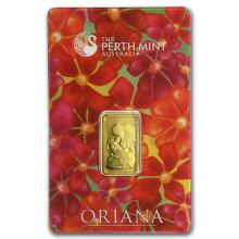 5 gram Gold Bar - Perth Mint Oriana (In Assay) #PAPPS75124