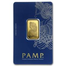 10 gram Gold Bar - PAMP Suisse Lady Fortuna Veriscan (In Assay) #PAPPS75107
